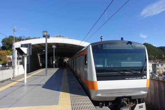正光寺 あきる野市 電車