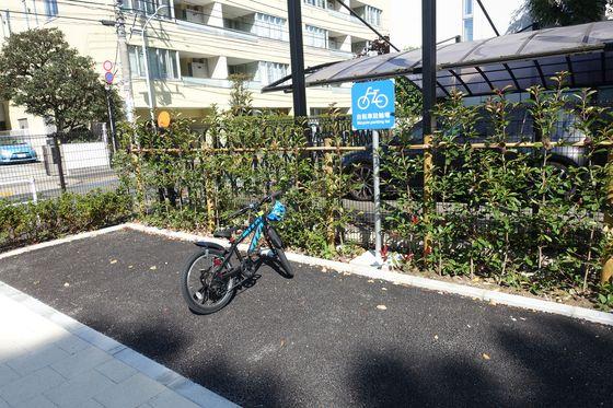 三田台公園 駐輪場