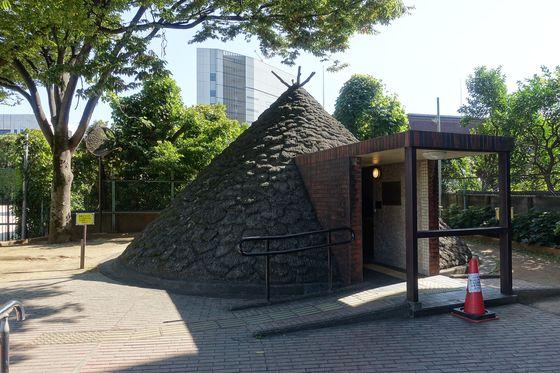 三田台公園 縄文復元住居