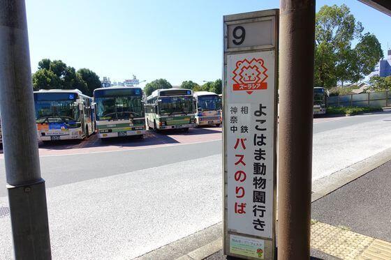 よこはま動物園ズーラシア バス
