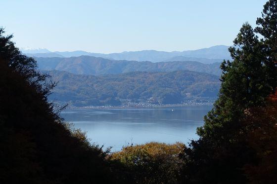 阿弥陀寺 諏訪湖