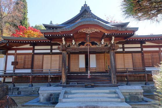 温泉寺 諏訪 本堂