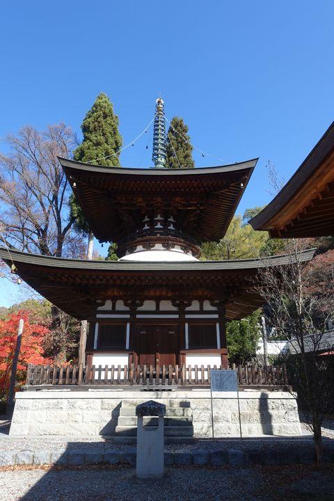 温泉寺 諏訪 多宝塔