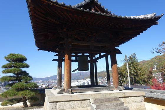 温泉寺 諏訪 鐘楼