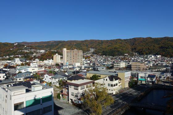 高島城 展望台 景色
