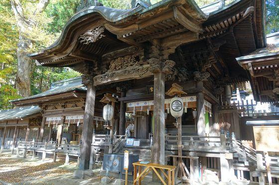 手長神社 拝殿