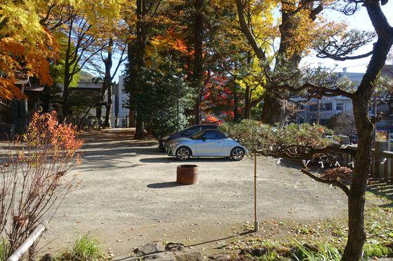 手長神社 駐車場