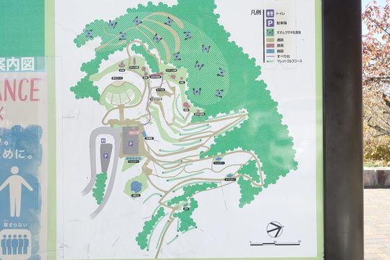 立石公園 諏訪 園内マップ