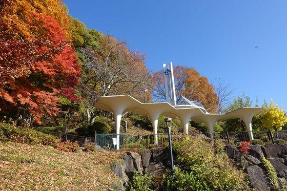 長野 立石公園 紅葉