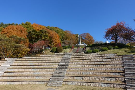 立石公園 秋