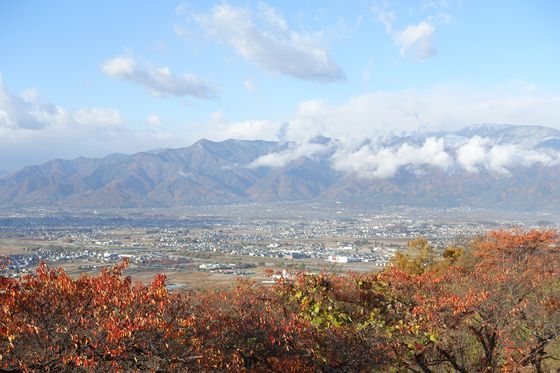 松本市アルプス公園 秋