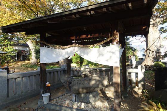 塩釜神社 松本市 手水舎