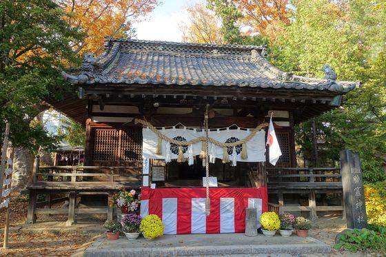 塩釜神社 松本市 社殿