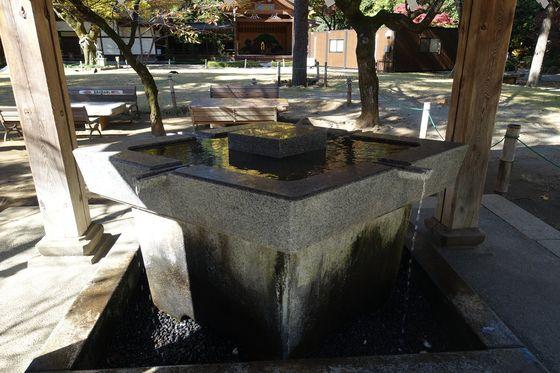 手水舎 武田神社