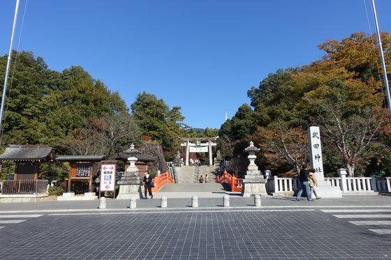 武田神社 境内