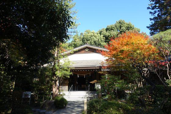 武田神社 秋