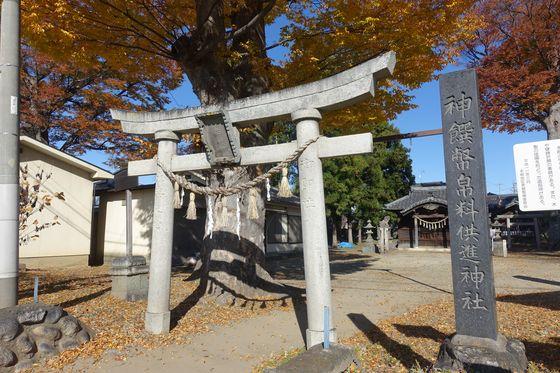 横田神社 松本市 鳥居
