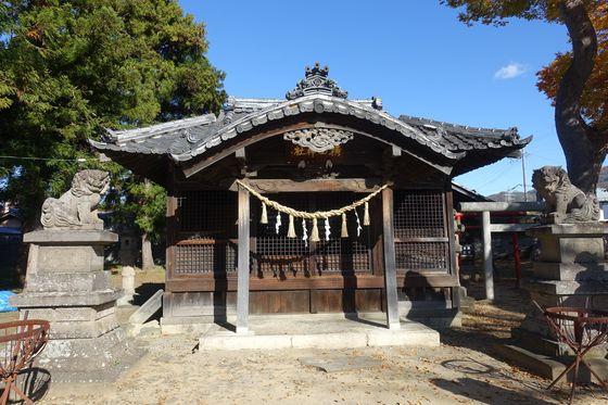 横田神社 松本市 社殿