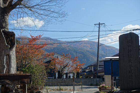 長野 横田神社 紅葉