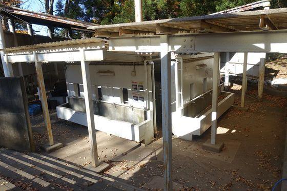 愛宕山こどもの国キャンプ場 洗い場