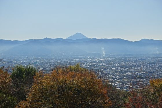 愛宕山少年自然の家 富士山