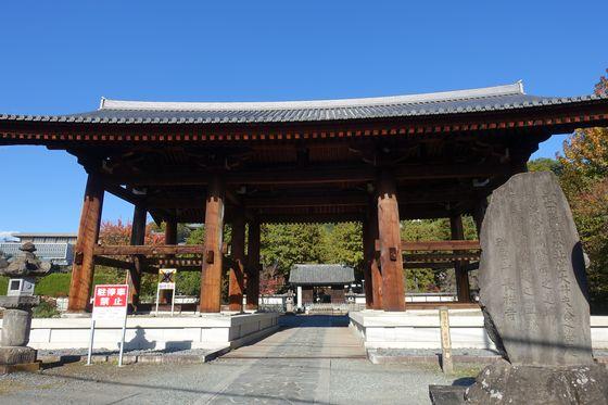 長禅寺 甲府 山門