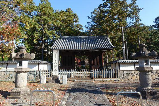 長禅寺 甲府 中門