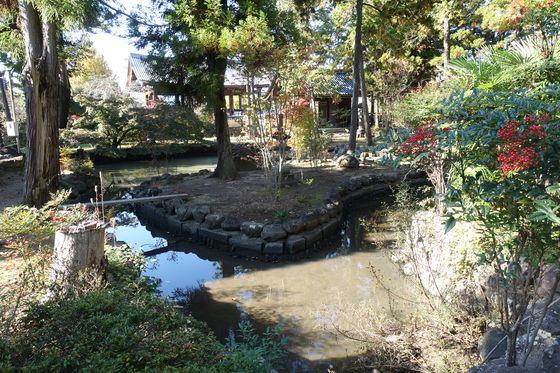 長禅寺 甲府 池