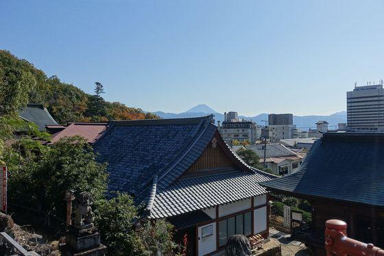 塩澤寺 富士山