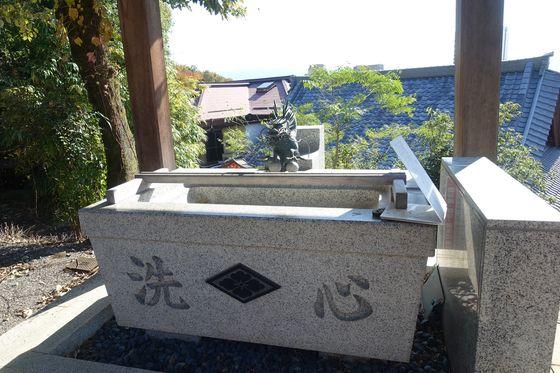 塩澤寺 手水舎