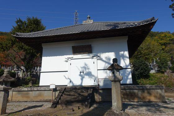法泉寺 甲府 経蔵