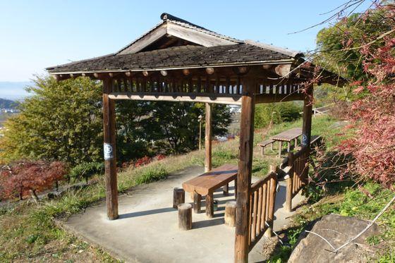 塩山ふれあいの森総合公園 富士見展望台