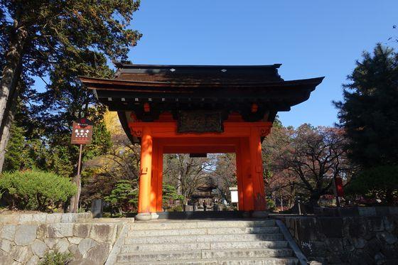 恵林寺 赤門
