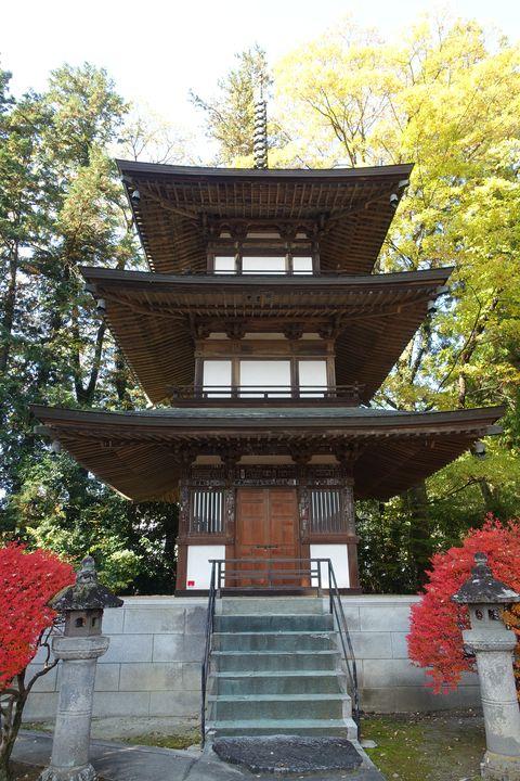 恵林寺 三重塔