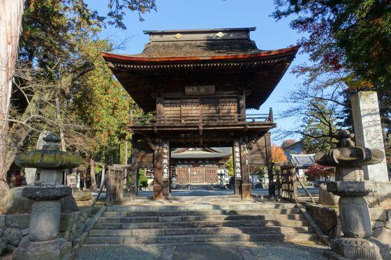 恵林寺 三門
