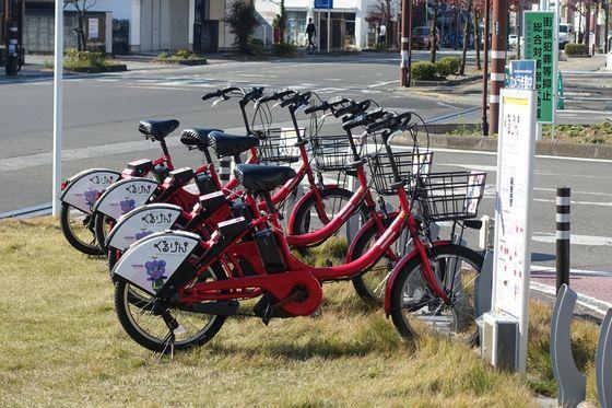 向獄寺 自転車