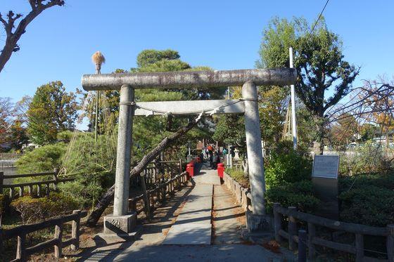 碑文谷公園 神社