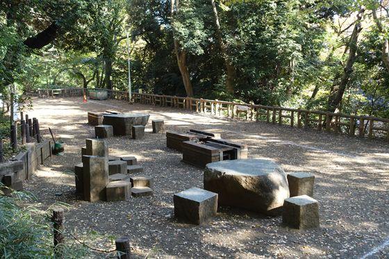 本門寺公園 キャンプ