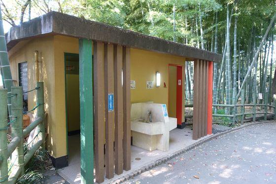 すずめのお宿緑地公園 トイレ