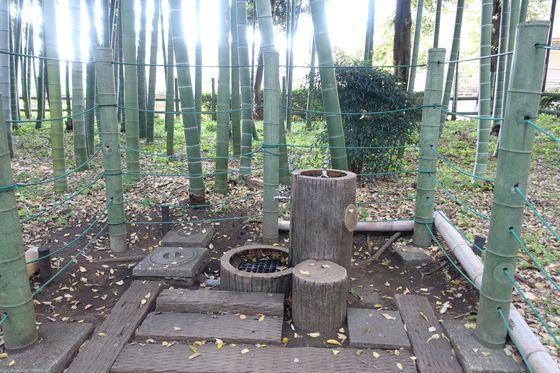 すずめのお宿緑地公園 水飲み場